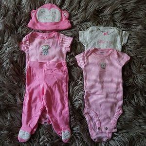 My Little Monkey: Newborn Girl's Lot